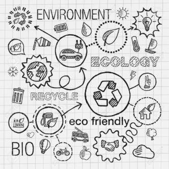 41722714-Ecology-infographic-hand-draw-icons-Vector-sketch-integrated-doodle-illustration-for-environmental-e-Stock-Vector